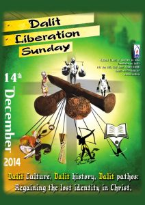 Dalit Liberation Book 2014 cover