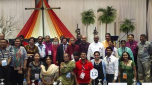 Indian Church leaders during CCA Assembly in Jakarta