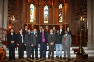 Indian delegation Holy Trinty Church Shanghi