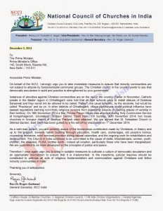 Letter to PM 2.12.2014
