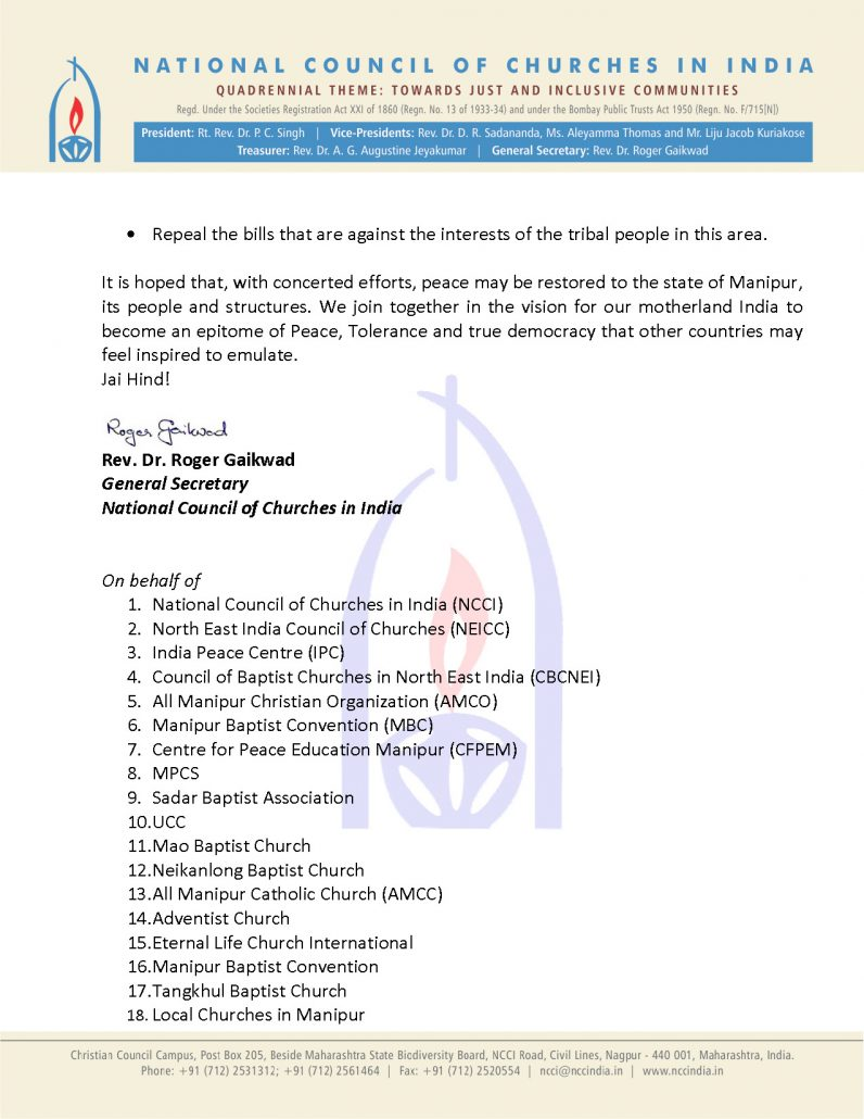 Manipur situation appeal from NCCI_Page_3