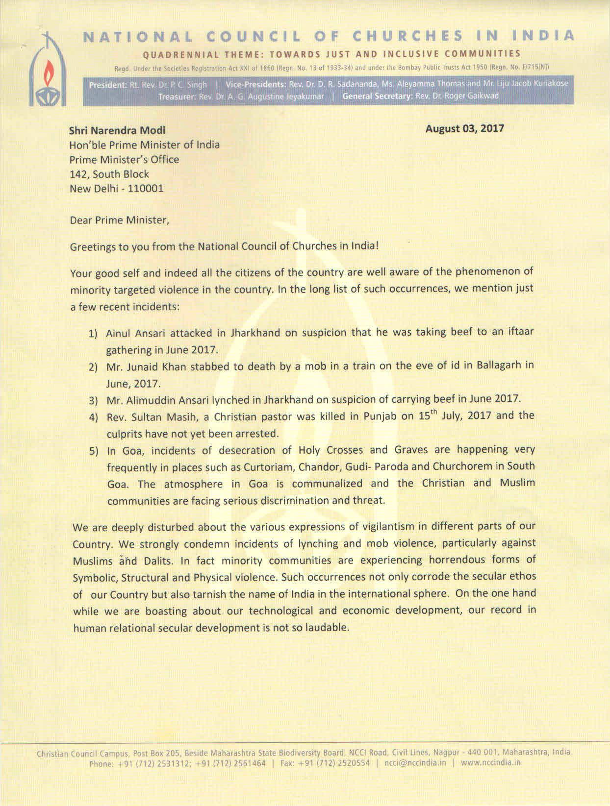 president secretary india